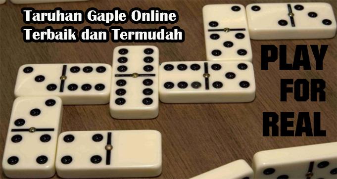 Taruhan Gaple Online Terbaik dan Termudah